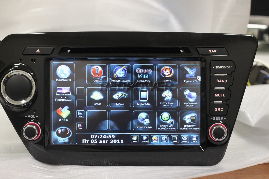 Фото daystar ds-7091hd для mitsubishi outlander с gps навигацией